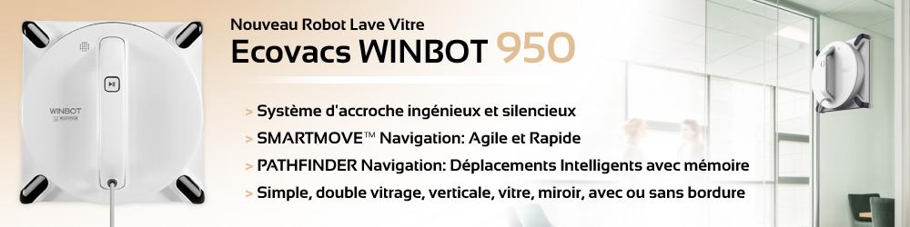 Robot laveur de vitre WINBTOT 950