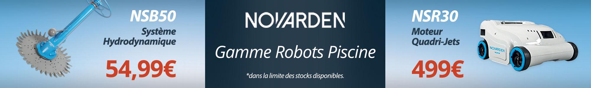 Nouveautés Robots Piscine Novarden