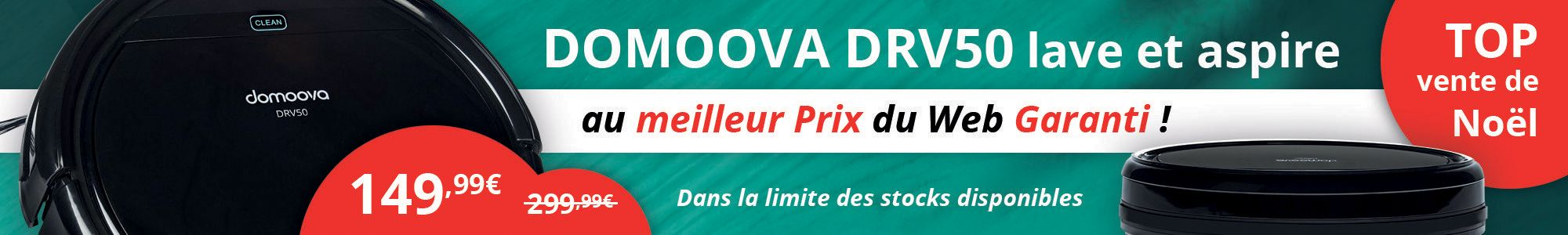 Domoova DRV50 au meilleur prix du web garanti !