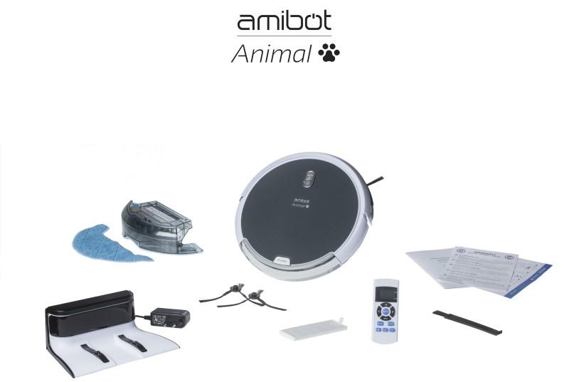 robot aspirateur amibot animal - accessoires