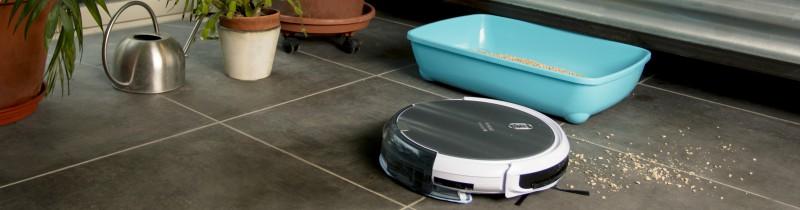 aspirateur robot amibot animal H2O