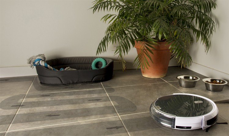 Robot Aspirateur Et Laveur AMIBOT Animal Comfort HO BestofRobots - Carrelage piscine et meilleur aspirateur pour tapis et moquette