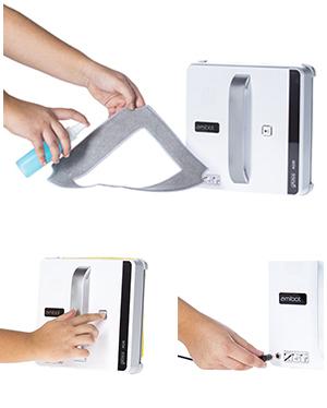 Lave vitre AMIBOT Glass AG30 facile d'utilisation