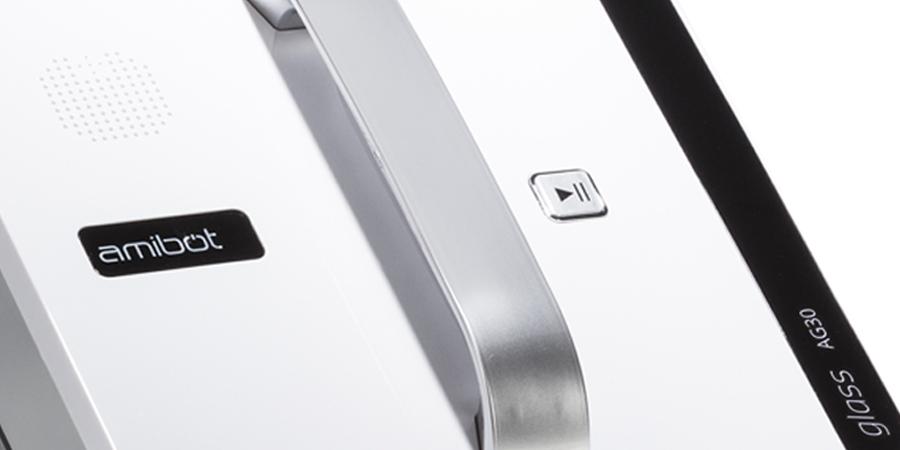 AMIBOT Glass AG30 Robot Laveur de Vitre vue de face