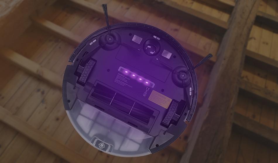 Aspirateur robot pure laser