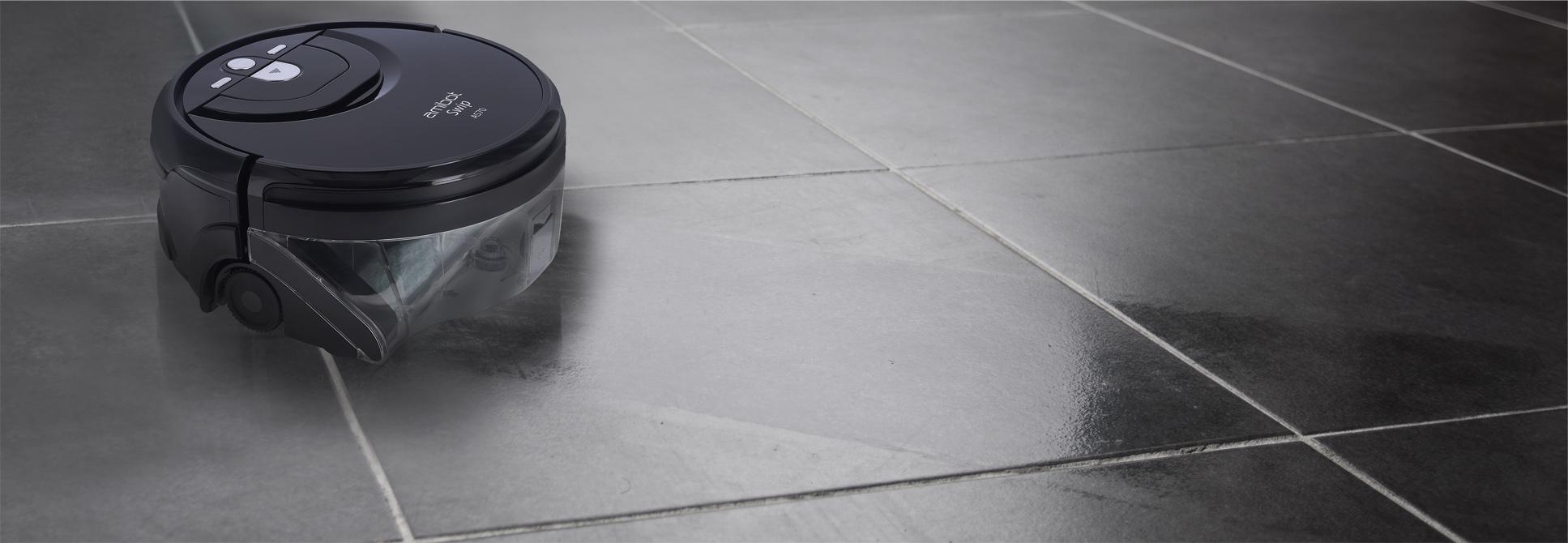 Robot laveur de sols durs AMIBOT Swip AS10 - Achat / Vente
