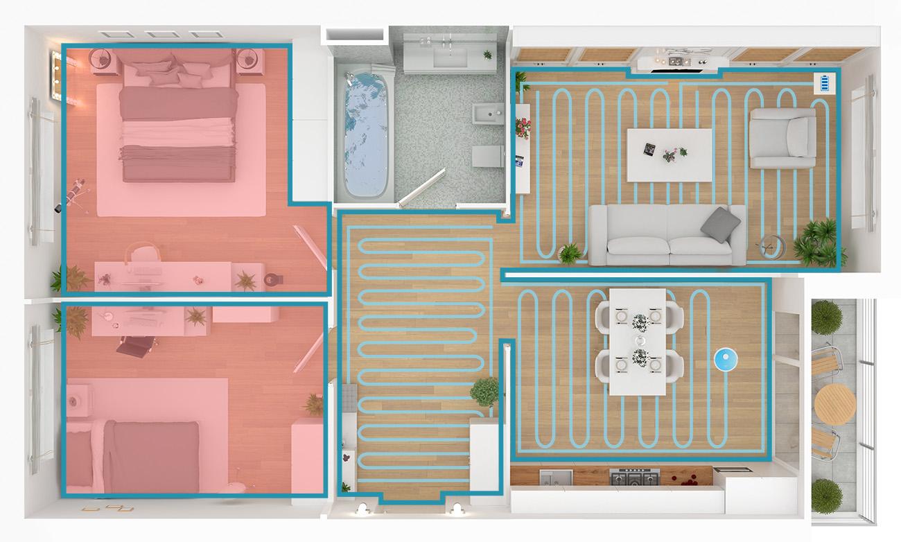 Plan maison Robot AMIBOT Spirit Laser H2O