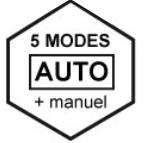 amicook family gourmet - modes auto ou manuel