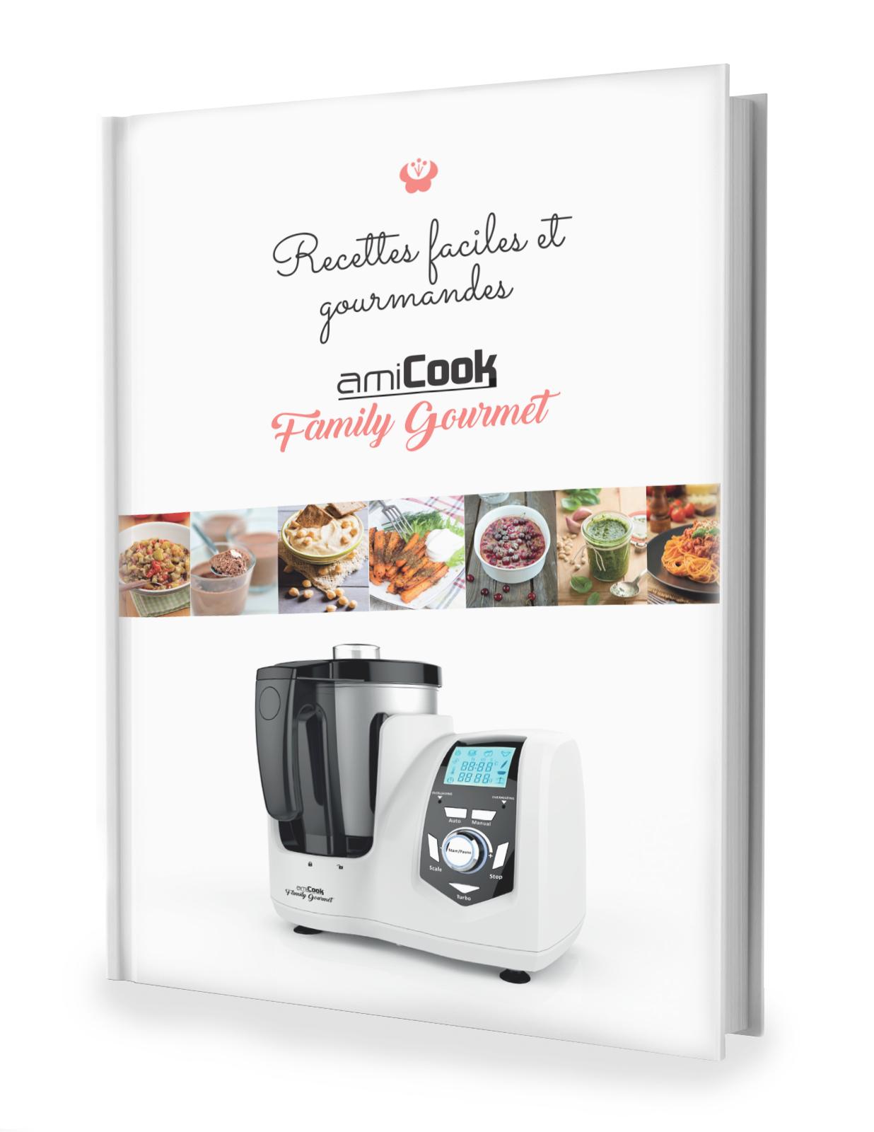 Livre de recettes faciles et gourmandes AMICOOK