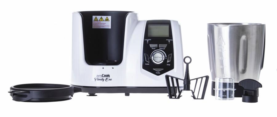 robot cuiseur family one - accessoires inclus