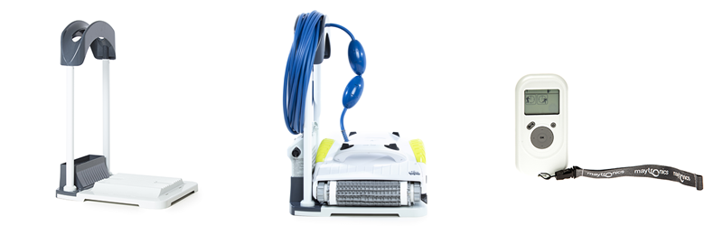 maytronics amipool dolphin x3 base, télécommande