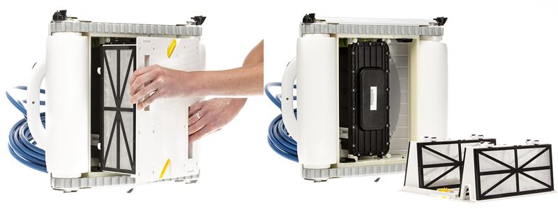 maytronics novaarden nsr50 dolphin robot piscine mousse