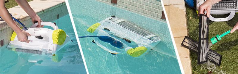 maytronics amipool dolphin x3 robot piscine