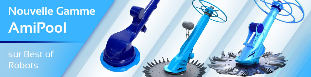 amipool robot piscine hydraulique