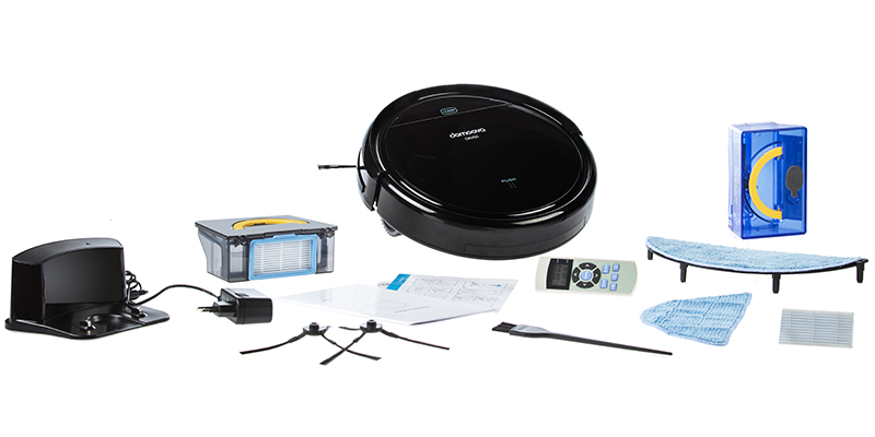 domoova robot aspirateur et laveur drv50 achat aspirateur robot. Black Bedroom Furniture Sets. Home Design Ideas