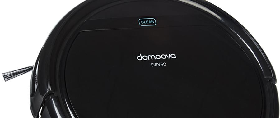 Robot aspirateur et laveur DOMOOVA DRV50 bandeau