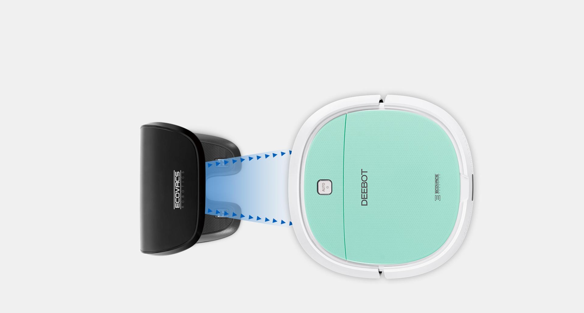 deebot mini rechargement