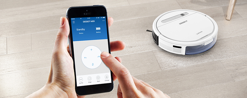 ECOVACS DEEBOT Ozmo 610 application mobile