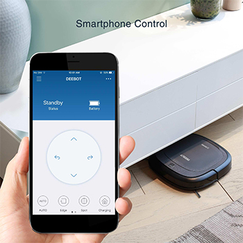 ECOVACS DEEBOT Slim 2 Black application