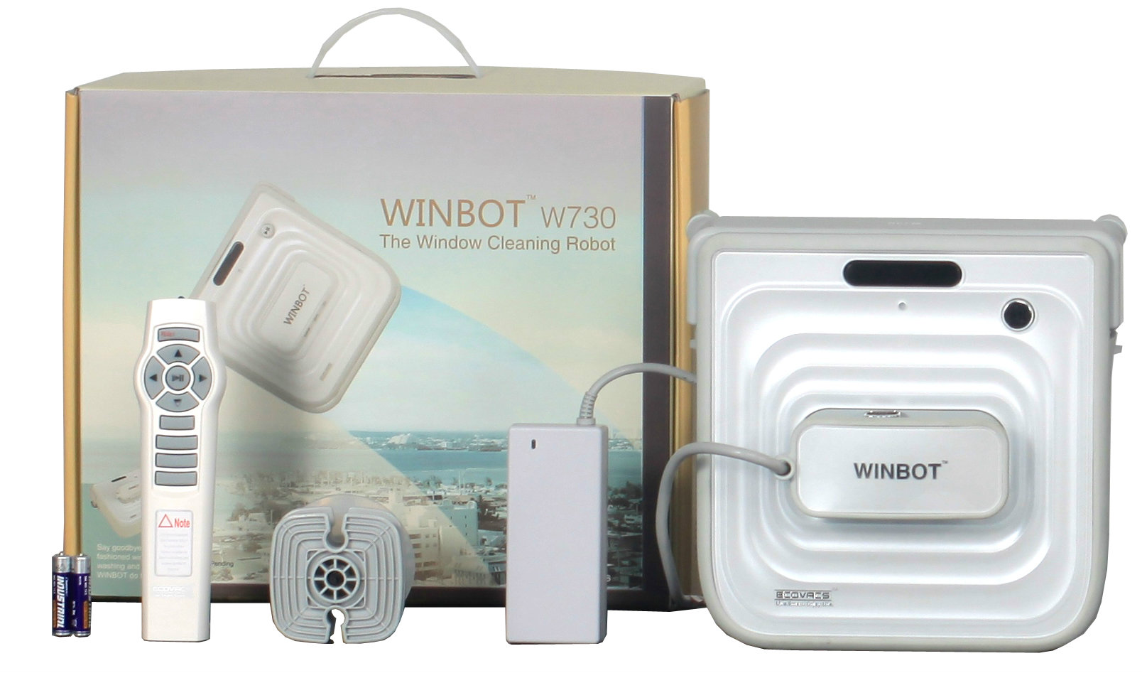 Winbot 730 - Boite et accessoires