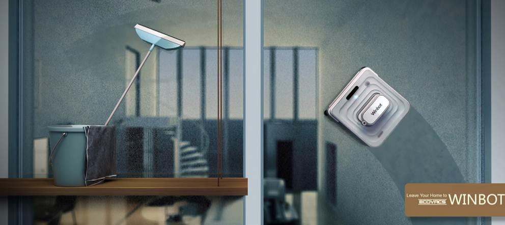 robot laveur de vitre ecovacs winbot 730 bestofrobots. Black Bedroom Furniture Sets. Home Design Ideas