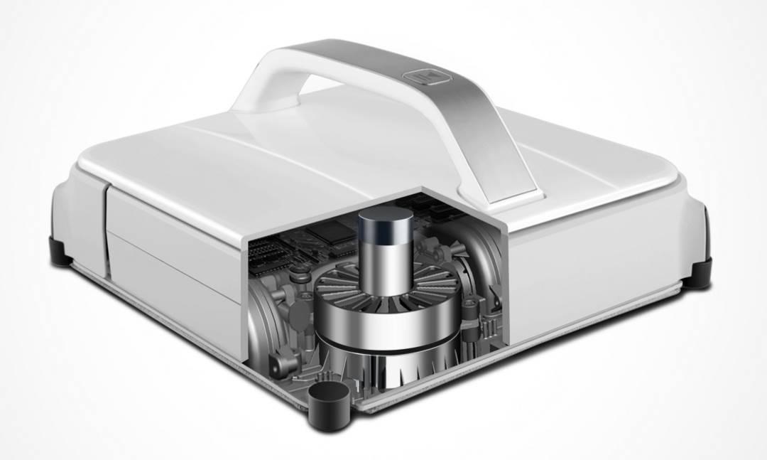 winbot 850 robot laveur de vitre - aspiration puissante