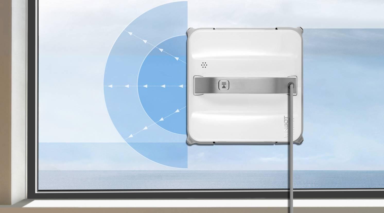 Protection rebords de fenêtre - Winbot 850 laveur de vitre