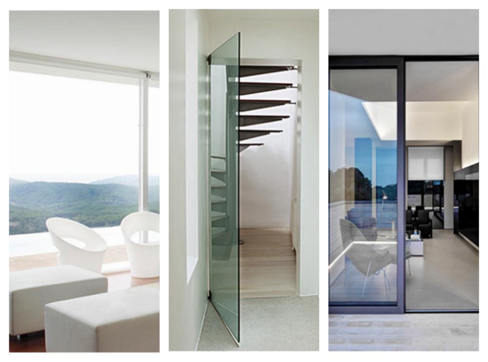 Types de surfaces vitrées WINBOT 950
