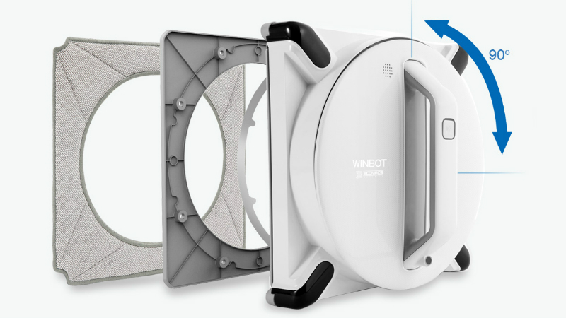 Winbot 950 - déplacements intelligents