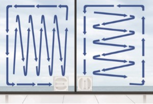 Laveur de vitres WINBOT X ECOVACS navigation intelligente