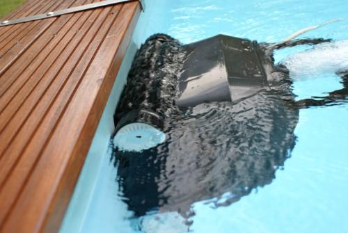 robot piscine électrique - ligne d'eau