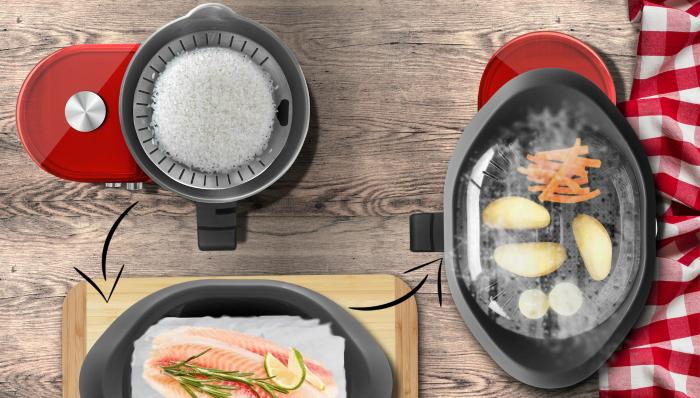 cuisson vapeur - robot cuiseur