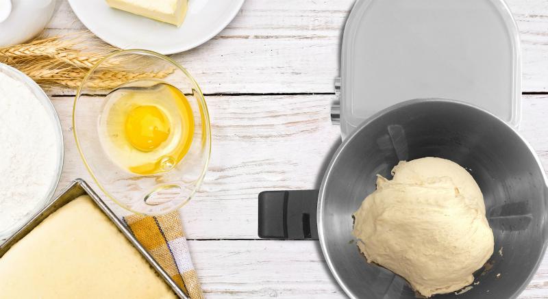 robot cuiseur - e.zicook et mix - pétrir
