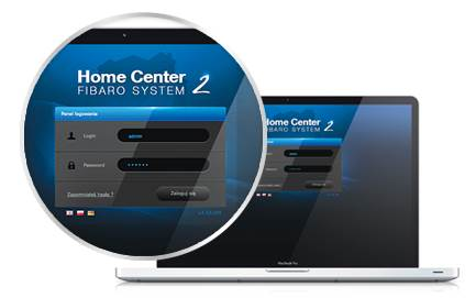 FIBARO Contrôleur domotique Z-Wave Home Center 2
