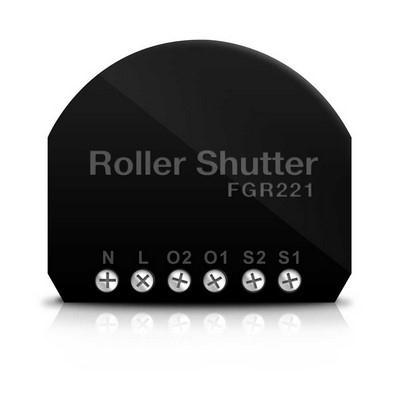 FIBARO Micromodule pour volet roulant Z-Wave FGR-221