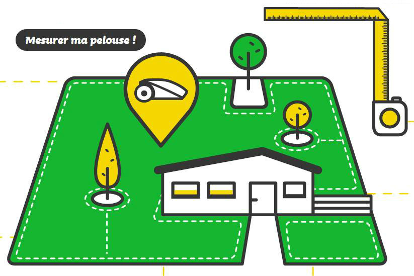 Mesurer la surface de son Jardin avec Robomow