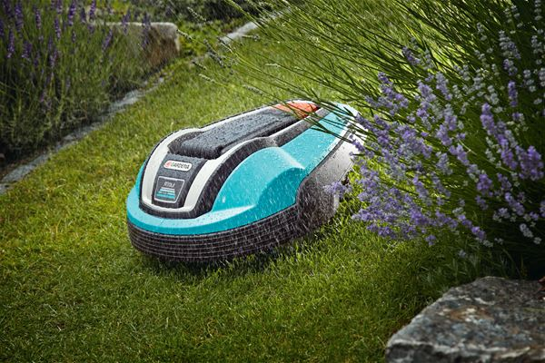 robot de tonte Gardena-pluie