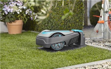 robot tondeuse gardena city 500 - base de charge