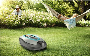 Robot tondeuse gardena smart sileno + autonome