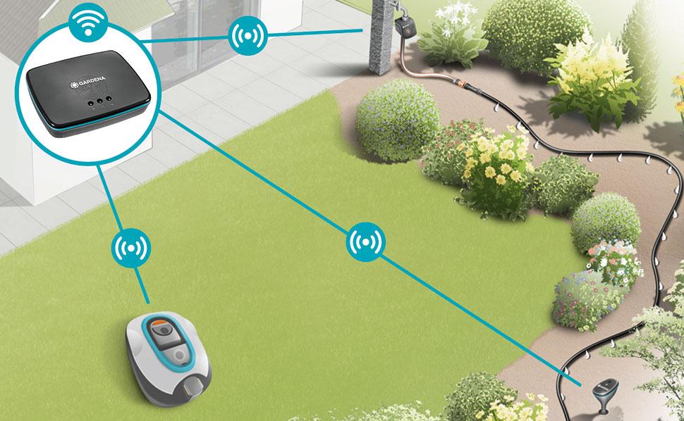 robot de tonte GARDENA SILENO - smart système