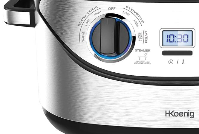 Robot cuiseur multifonctions H.KOENIG SLCOOK30