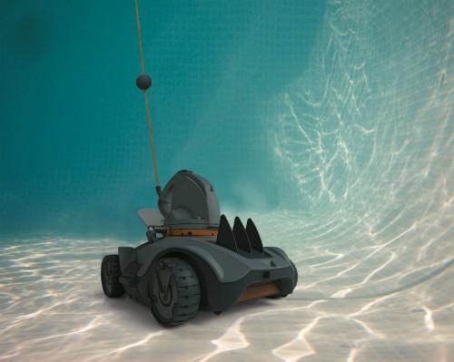 aspirateur robot de piscine sur batterie Kokido auto