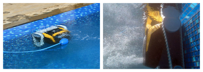 e20 dolphin maytronics - nettoie fond et parois