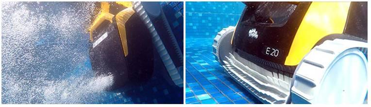 e20 dolphin maytronics - brossage intensif