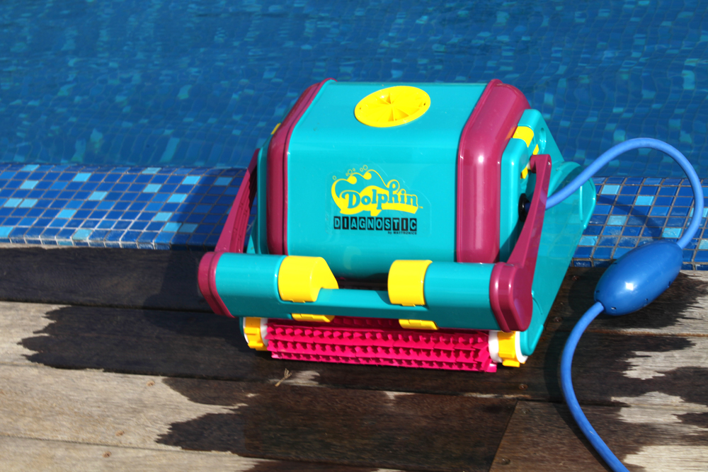 Robot de piscine maytronics dolphin diagnostic 2001 plus for Robot piscina dolphin