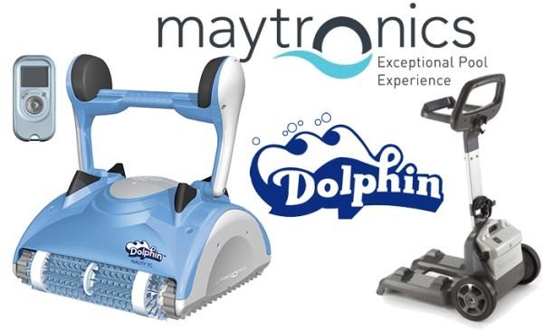 robot de piscine maytronics dolphin nauty tc bestofrobots. Black Bedroom Furniture Sets. Home Design Ideas