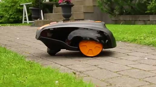 zone secondaire - robot tondeuse Mc Culloch