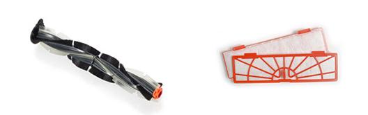 robot aspirateur NEATO Connecte brosse combinée et filtre standard