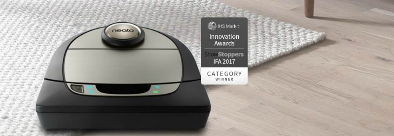 aspirateur robot neato robotics botvac connect d7 bestofrobots. Black Bedroom Furniture Sets. Home Design Ideas