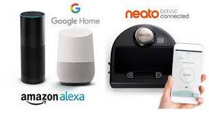 Neato D7 compatible avec Alexa et Google home